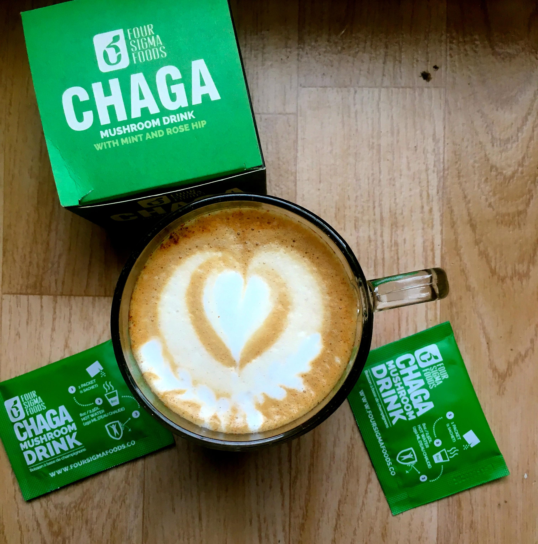 Slik lager du chai latte med chaga