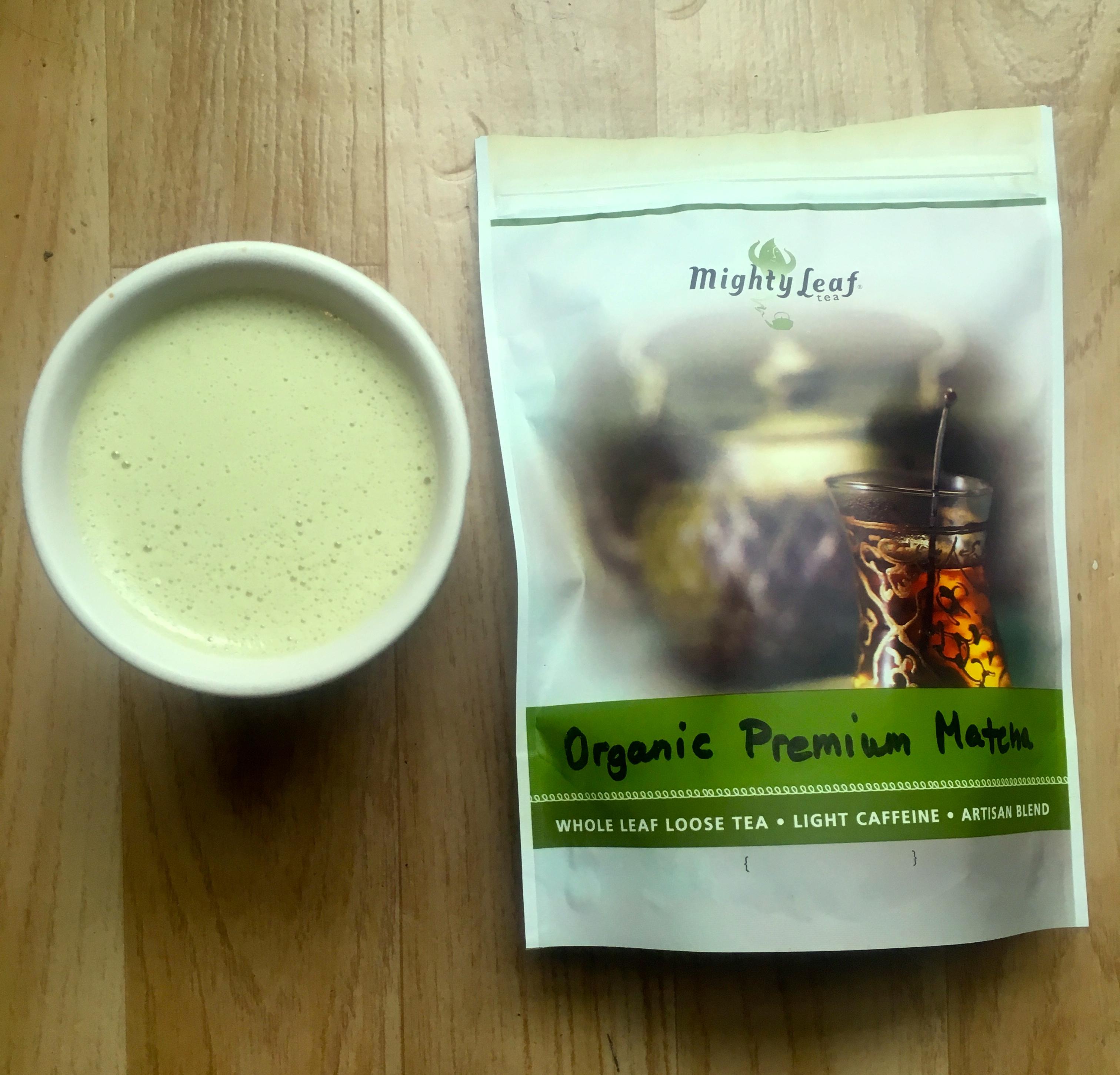 Slik lager du bulletproof matcha latte