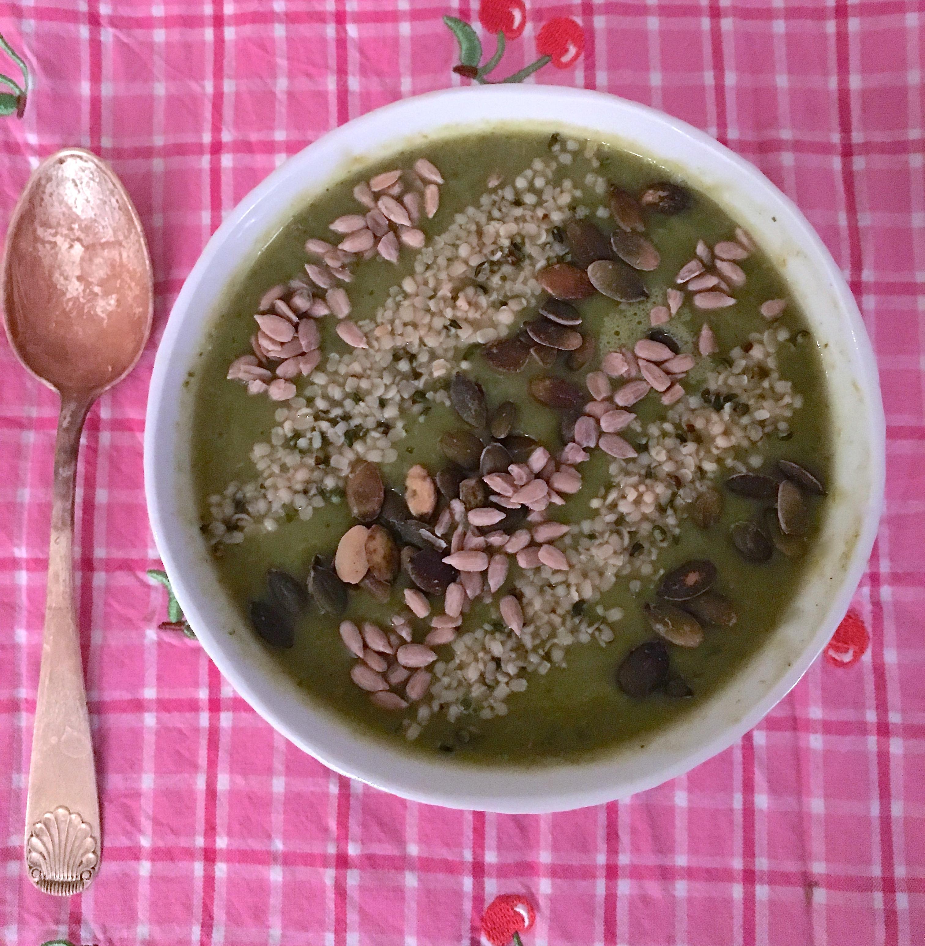 Grønn 5-om-dagen-suppe