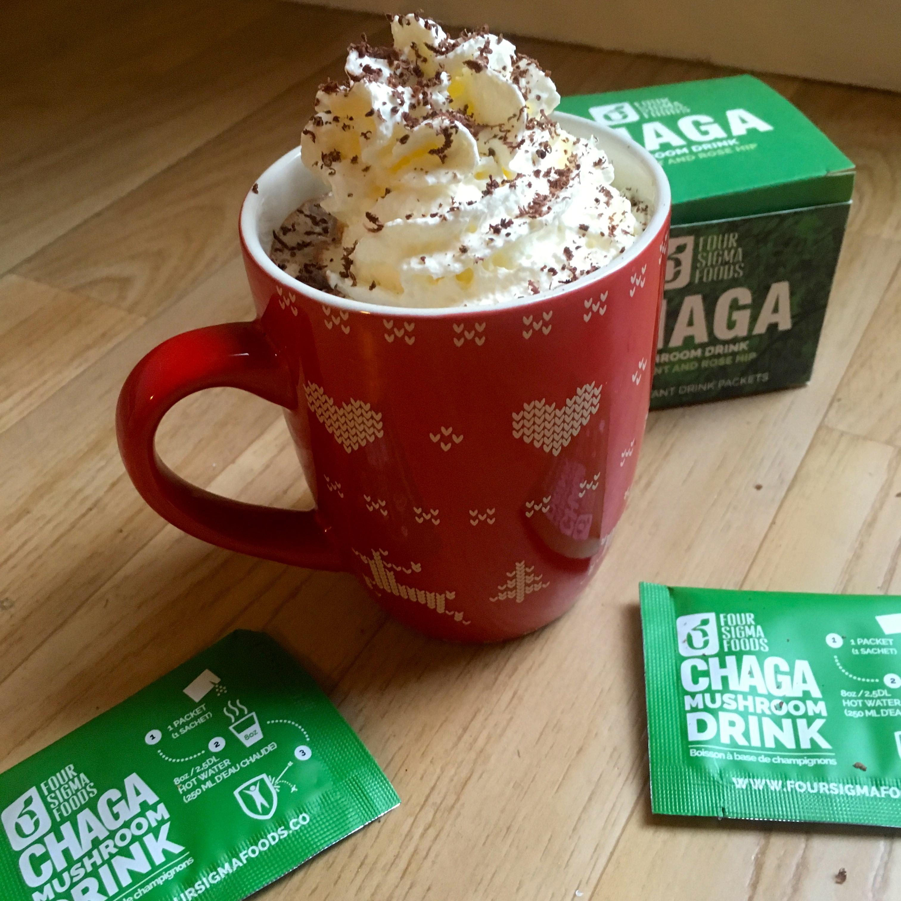 varm sjokolade med chaga