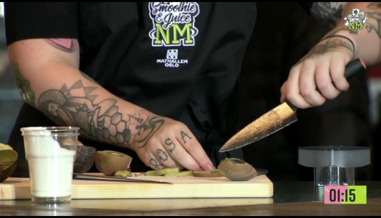 Se bildene fra NM i smoothie & juice!