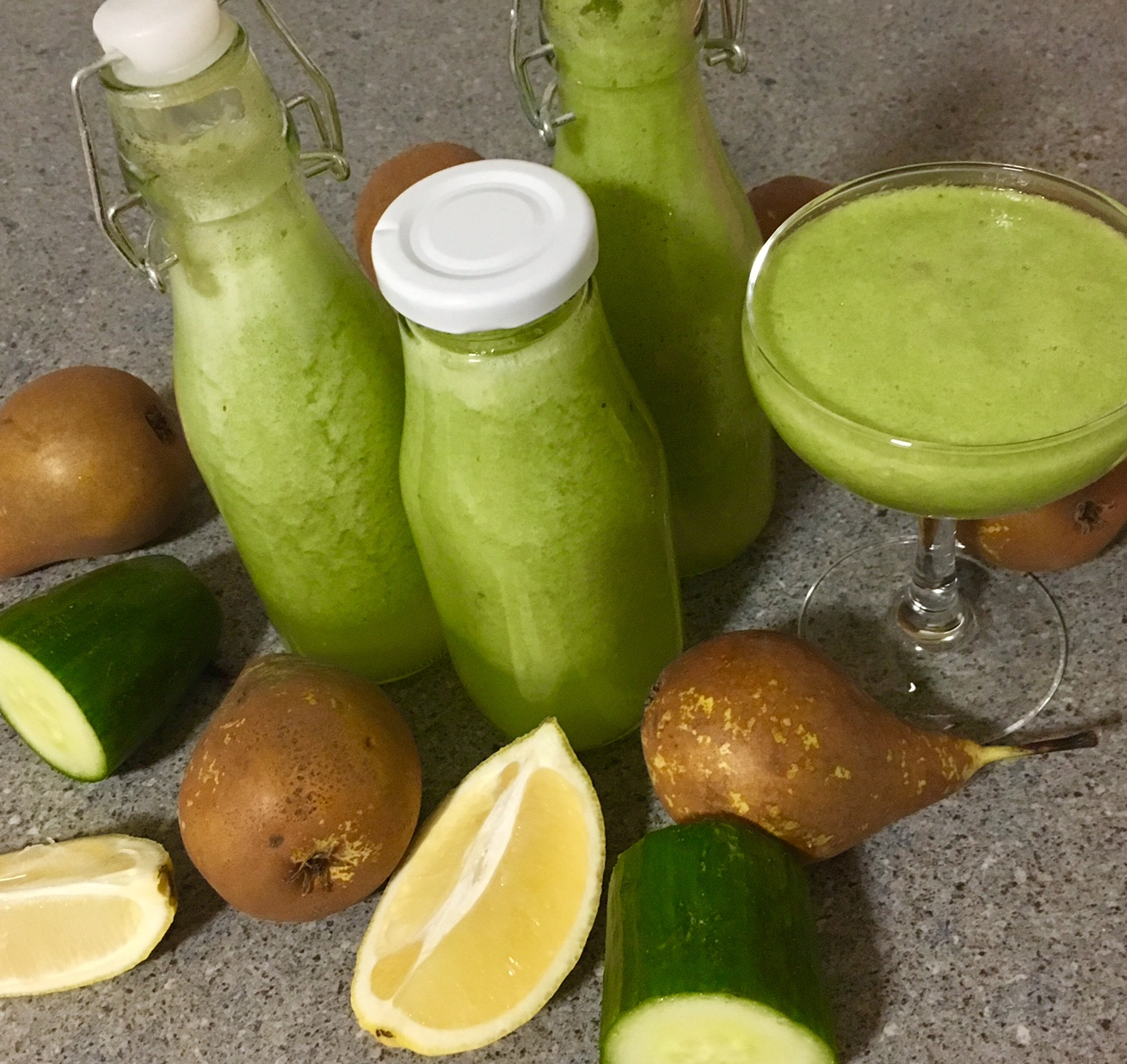 Slik lager du grønn juice som ikke smaker gress